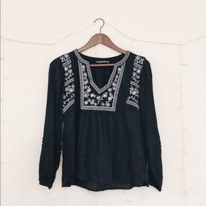 Abercrombie Embroidered Shirt